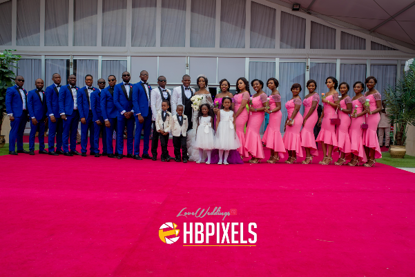 Nigerian White Wedding - Beverly and Tammy LoveweddingsNG 2