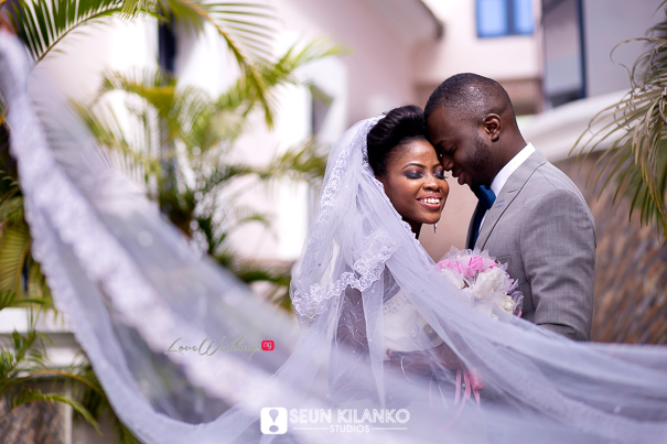 Nigerian White Wedding Folake and Dotun Seun Kilanko Studios LoveweddingsNG 11