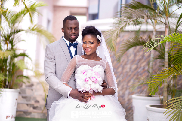 Nigerian White Wedding Folake and Dotun Seun Kilanko Studios LoveweddingsNG 7