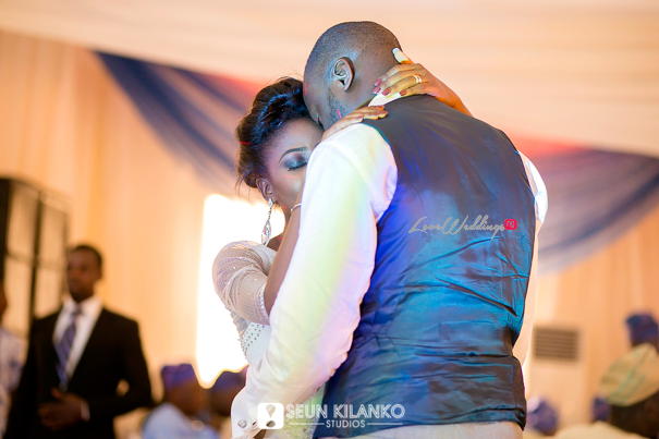 Nigerian White Wedding Folake and Dotun Seun Kilanko Studios LoveweddingsNG First Dance