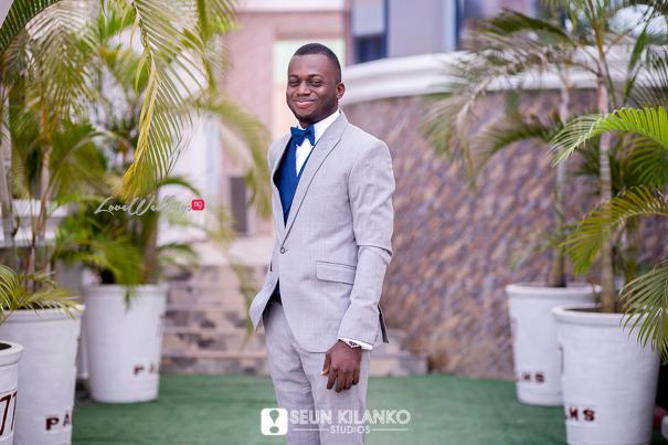 Nigerian White Wedding Folake and Dotun Seun Kilanko Studios LoveweddingsNG Groom