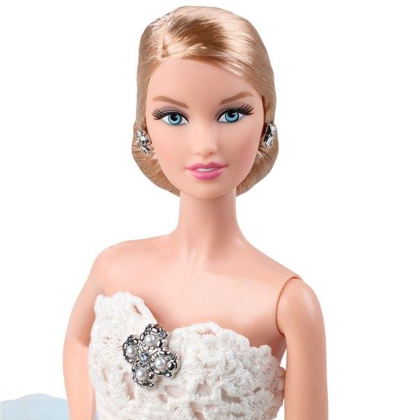 Oscar de la Renta Barbie Bride doll LoveweddingsNG 1