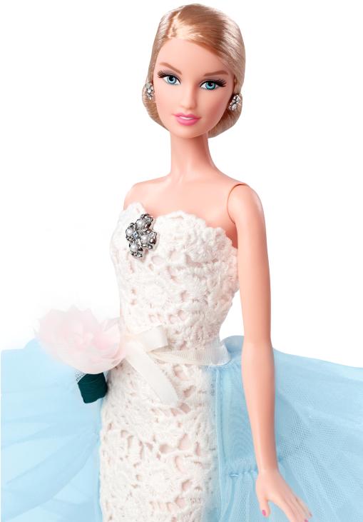 Oscar de la Renta Barbie Bride doll LoveweddingsNG 4