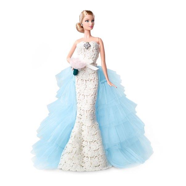Oscar de la Renta Barbie Bride doll LoveweddingsNG