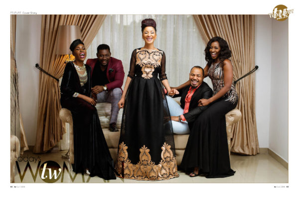 "Todays Woman April Cover Ramsey Nouah, Kate Henshaw, Adesua Etomi, Kemi ""Lala"" Akindoju & Daniel K. Daniel Cover LoveweddingsNG 1"