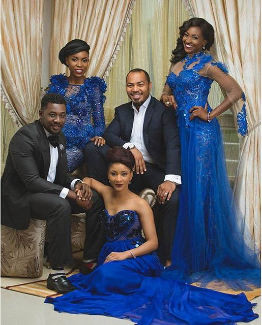 "Todays Woman April Cover Ramsey Nouah, Kate Henshaw, Adesua Etomi, Kemi ""Lala"" Akindoju & Daniel K. Daniel Cover LoveweddingsNG 2"