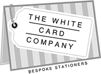 Wedding Stationery The White Card Company Logo LoveweddingsNG