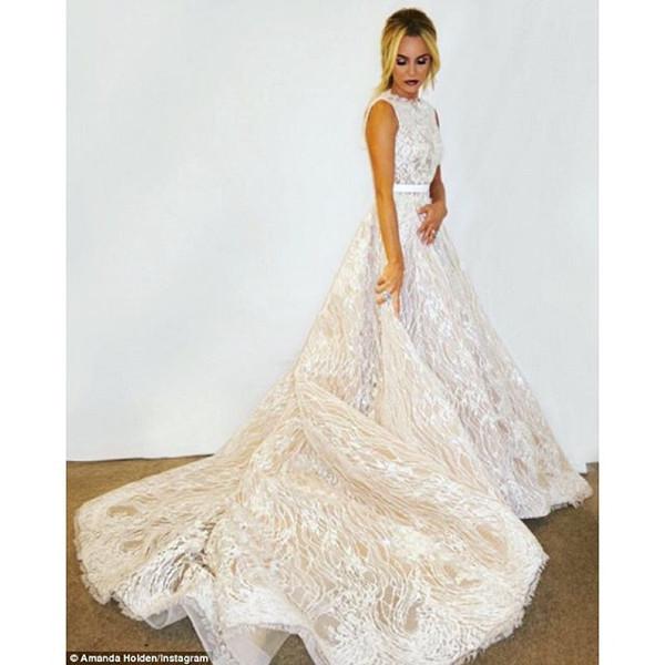 Amanda Holden Britains Got Talent 2016 Final Gown LoveweddingsNG 2