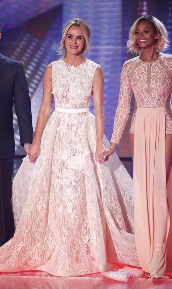 Amanda Holden Britains Got Talent 2016 Final Gown LoveweddingsNG