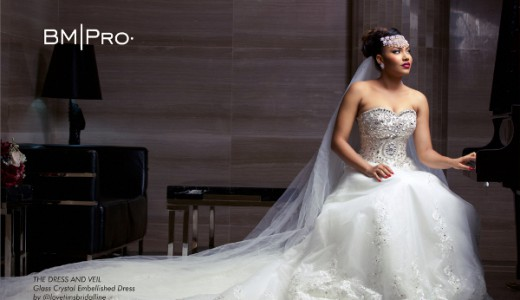 Anna Ebiere Banner Bride Wedding Gown BMPro Covers May 2016 LoveweddingsNG 1