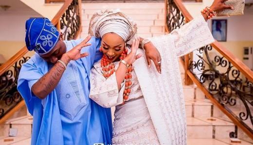 Coco Adeleke Davido Traditional Wedding LoveweddingsNG