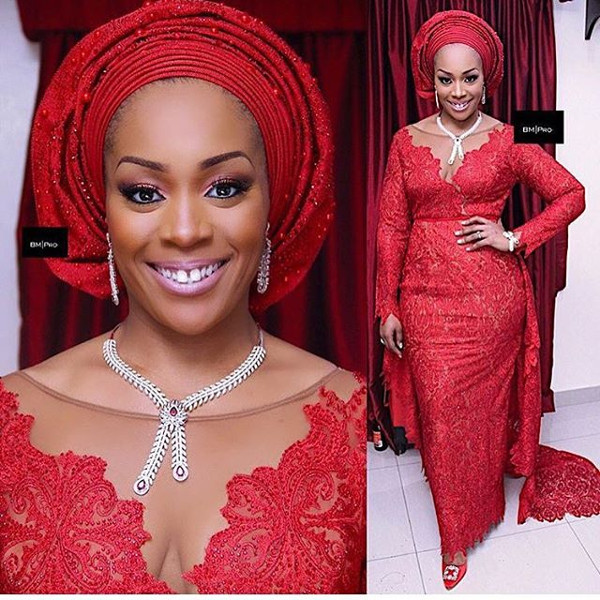 Coco Adeleke Traditional Wedding Outfit Bimmms24 1