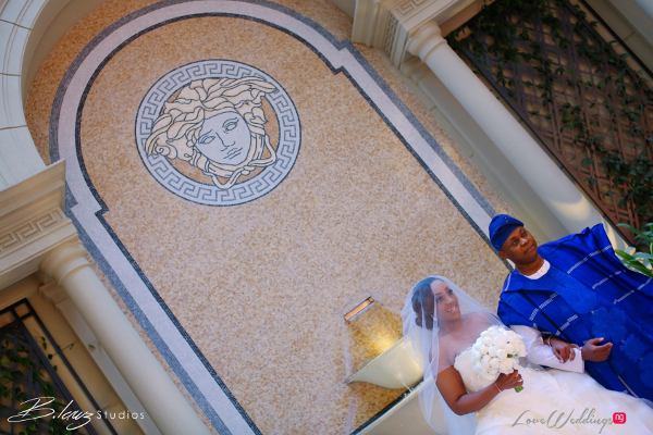 Coco Adeleke and Caleb Adaji White Wedding in Dubai Bride and Dad BLawz Studios LoveweddingsNG 2