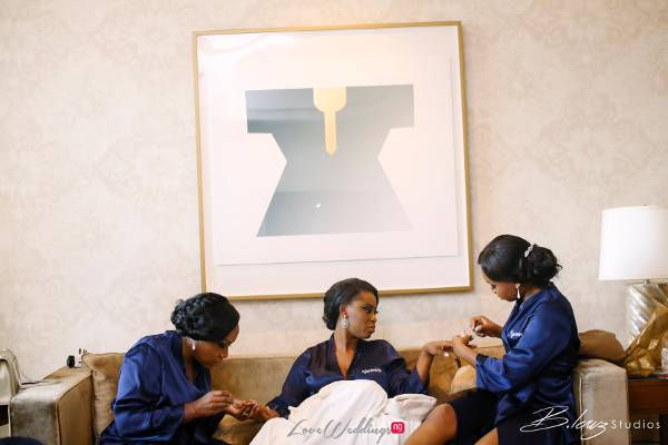 Coco Adeleke and Caleb Adaji White Wedding in Dubai Bridesmaids BLawz Studios LoveweddingsNG 1