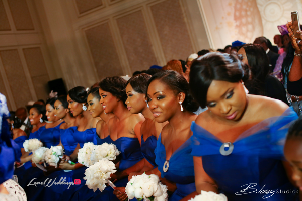 Coco Adeleke and Caleb Adaji White Wedding in Dubai Bridesmaids BLawz Studios LoveweddingsNG 2