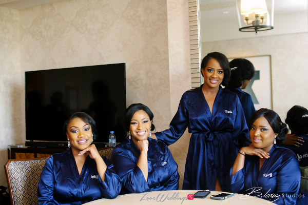 Coco Adeleke and Caleb Adaji White Wedding in Dubai Bridesmaids BLawz Studios LoveweddingsNG