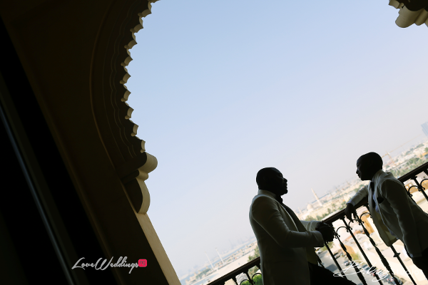 Coco Adeleke and Caleb Adaji White Wedding in Dubai Groom and Page Boy BLawz Studios LoveweddingsNG 1