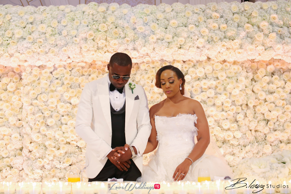 Coco Adeleke and Caleb Adaji White Wedding in Dubai Reception Prayer BLawz Studios LoveweddingsNG 2