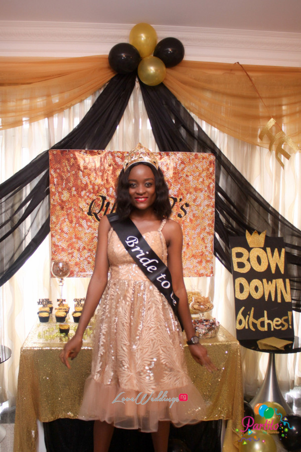 Dami's Beyonce Themed Bridal Shower Partito By Ronnie Bride LoveweddingsNG 1