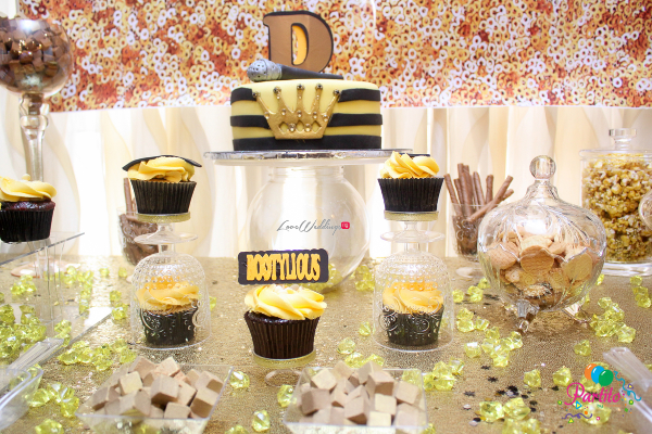Dami's Beyonce Themed Bridal Shower Partito By Ronnie Cakes LoveweddingsNG