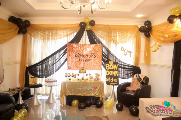Dami's Beyonce Themed Bridal Shower Partito By Ronnie Decor LoveweddingsNG