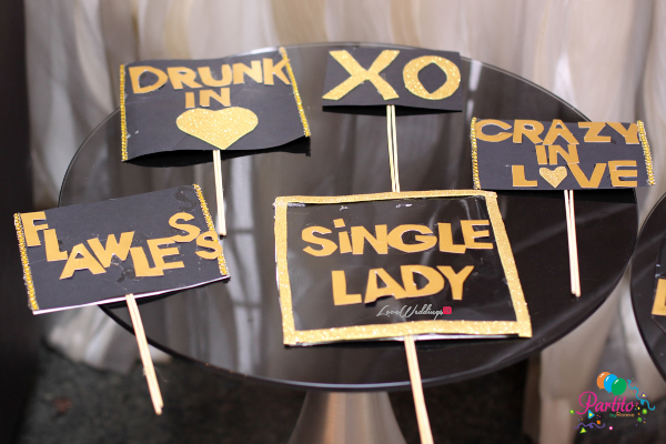 Dami's Beyonce Themed Bridal Shower Partito By Ronnie Props LoveweddingsNG
