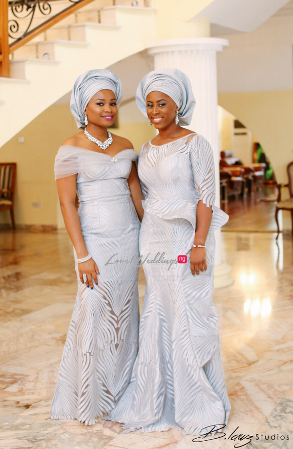 Davido's sister Coco weds Caleb Traditional Wedding Aso Ebi LoveweddingsNG 1