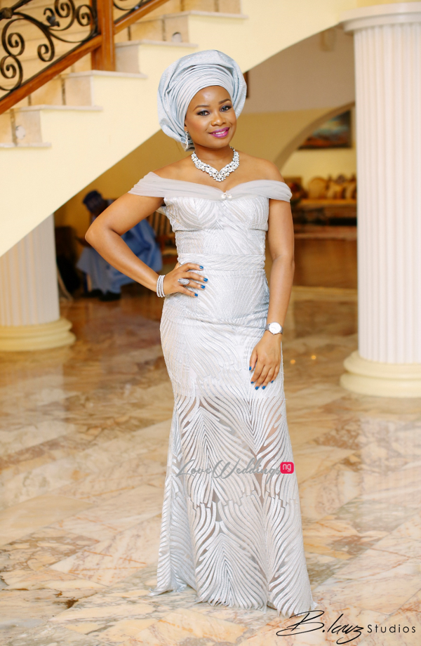 Davido's sister Coco weds Caleb Traditional Wedding Aso Ebi LoveweddingsNG 2