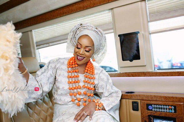 Davido's sister Coco weds Caleb Traditional Wedding Bride Dancing LoveweddingsNG 1