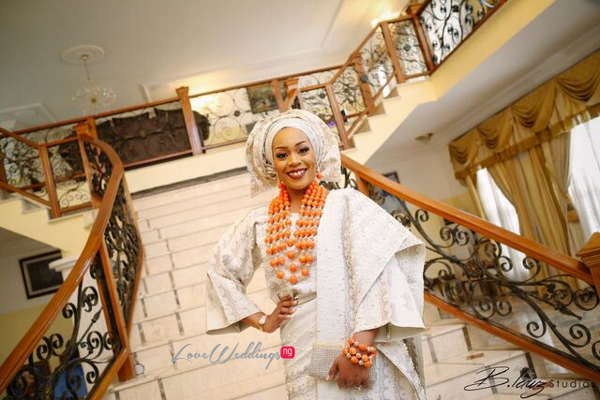 Davido's sister Coco weds Caleb Traditional Wedding Bride LoveweddingsNG 1