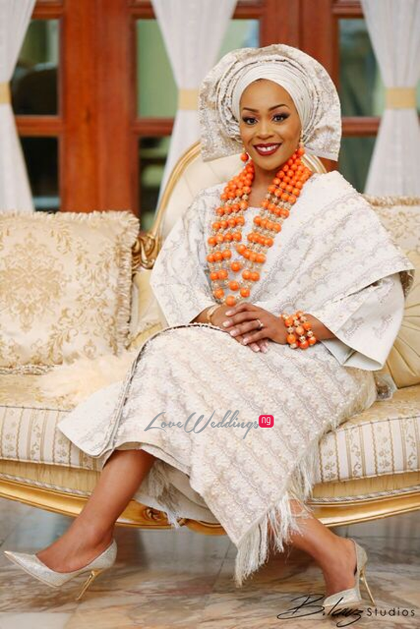 Davido's sister Coco weds Caleb Traditional Wedding Bride LoveweddingsNG 8