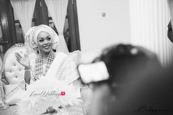 Davido's sister Coco weds Caleb Traditional Wedding Bride LoveweddingsNG 9