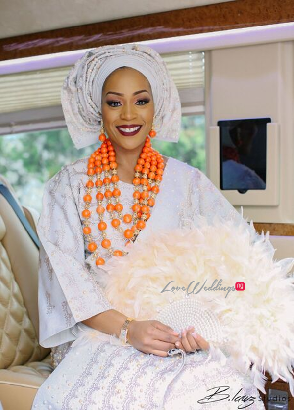 Davido's sister Coco weds Caleb Traditional Wedding Bride LoveweddingsNG