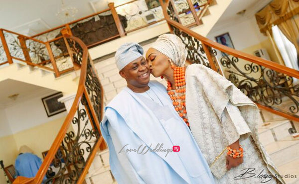 Davido's sister Coco weds Caleb Traditional Wedding Bride and Father LoveweddingsNG 1