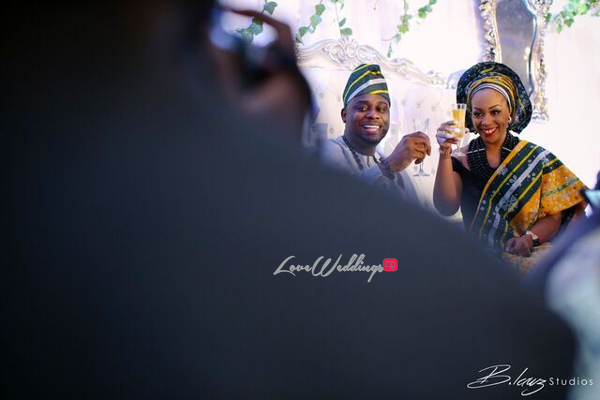 Davido's sister Coco weds Caleb Traditional Wedding Couple LoveweddingsNG 10