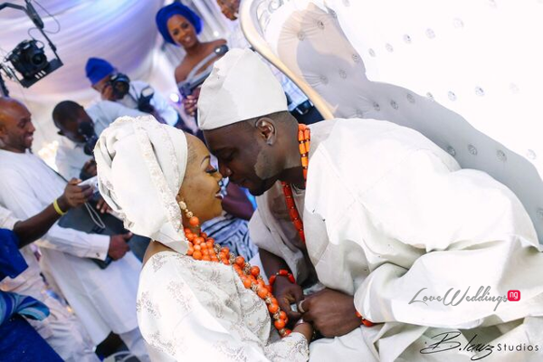 Davido's sister Coco weds Caleb Traditional Wedding Couple LoveweddingsNG 3