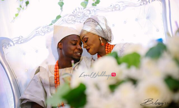 Davido's sister Coco weds Caleb Traditional Wedding Couple LoveweddingsNG 4