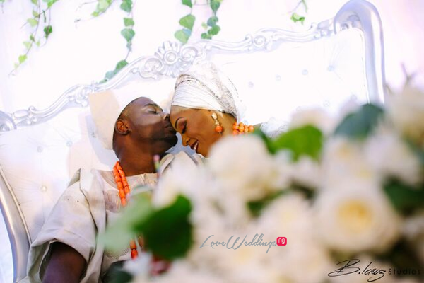 Davido's sister Coco weds Caleb Traditional Wedding Couple LoveweddingsNG 5