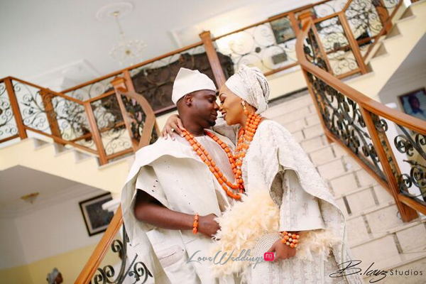 Davido's sister Coco weds Caleb Traditional Wedding Couple LoveweddingsNG 6