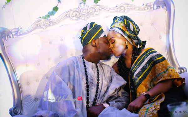 Davido's sister Coco weds Caleb Traditional Wedding Couple LoveweddingsNG 8