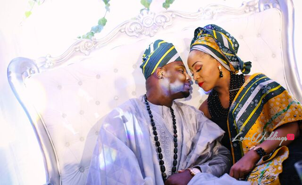 Davido's sister Coco weds Caleb Traditional Wedding Couple LoveweddingsNG 9