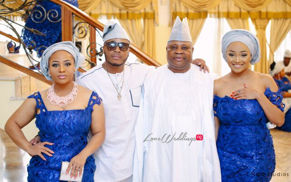 Davido's sister Coco weds Caleb Traditional Wedding Family LoveweddingsNG