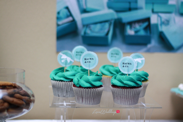 Hauwa's Tiffany & Co Themed Bridal Shower Cupcakes Partito by Ronnie LoveweddingsNG