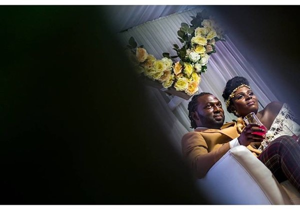 Jide weds Morayo Odukoya Bride and Groom White Wedding Bayo Omoboriowo LoveweddingsNG #MJ2016