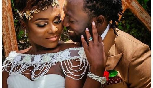 Jide weds Morayo Odukoya Bride and Groom White Wedding Sottu Photography LoveweddingsNG #MJ2016