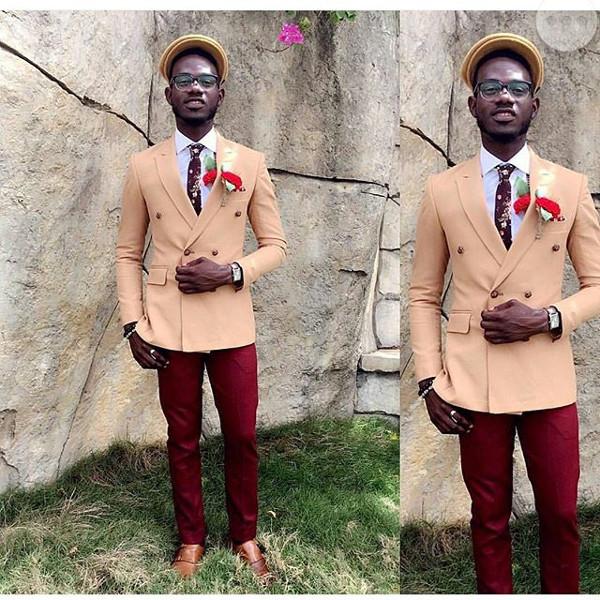 Jide weds Morayo Odukoya Groomsman Tope Horpload LoveweddingsNG #MJ2016