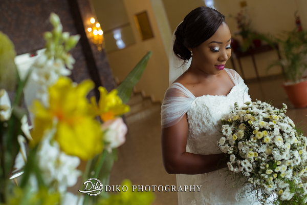 Nigerian Bouquet Grace and Pirzing LoveweddingsNG Diko Photography