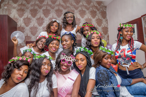 Nigerian Bridal Shower Esther and Ben Bride and Friends Diko Photography LoveweddingsNG