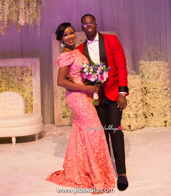Nigerian Bride And Groom Reception Outfit IntroducingTheSydneys LoveweddingsNG 1