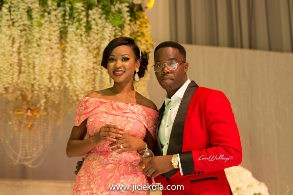 Nigerian Bride and Groom Reception Outfit #IntroducingTheSydneys LoveweddingsNG